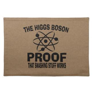 Higgs Boson Smashing Stuff Works Placemat