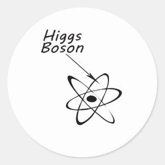 Higgs Boson Classic Round Sticker