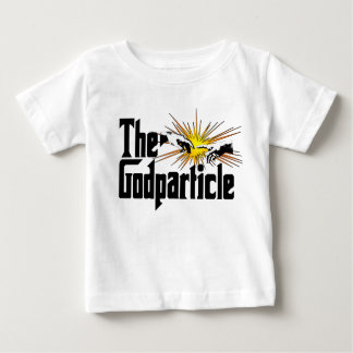 Higgs Boson The Godparticle - Funny Physics Nerd Baby T-Shirt