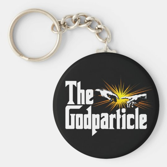 Higgs Boson The Godparticle - Funny Physics Nerd Keychain