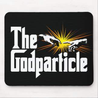 Higgs Boson The Godparticle - Funny Physics Nerd Mouse Pad
