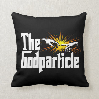 Higgs Boson The Godparticle - Funny Physics Nerd Throw Pillow