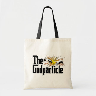 Higgs Boson The Godparticle - Funny Physics Nerd Tote Bag