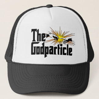 Higgs Boson The Godparticle - Funny Physics Nerd Trucker Hat