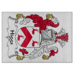 Higgs Family Crest Cutting Boards