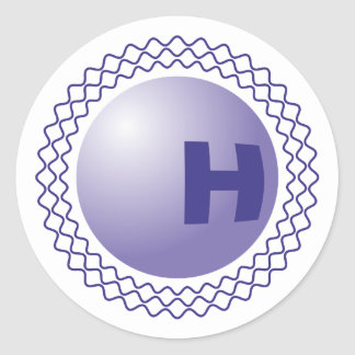 Higgs partícula Boson particle Pegatina Redonda