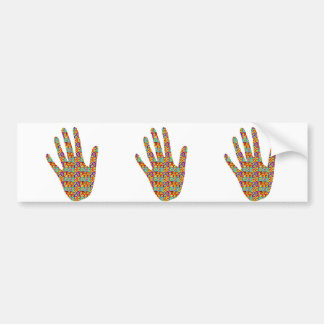 HIGH5 Highfive Hand Party Giveaway GIFTS Bless Bumper Sticker