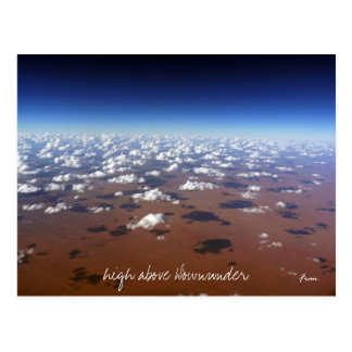 high above Downunder Post Cards