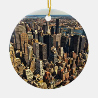 High Above NYC Christmas Ornaments