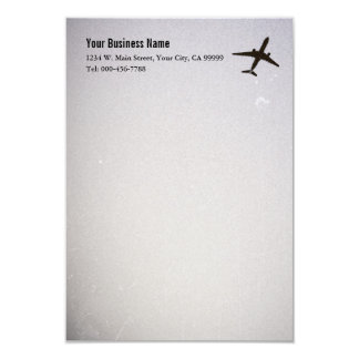 High Altitude Airplane Correspondence Cards