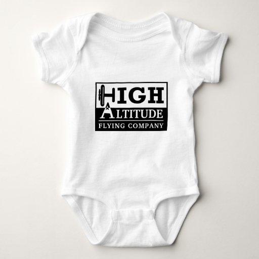 High Altitude Flying Company Logo Tshirts