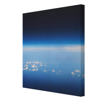 High altitude photo of Earth 2 Canvas Print