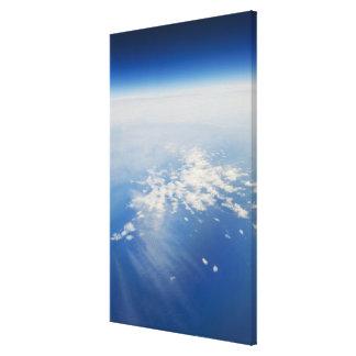 High altitude photo of Earth 3 Canvas Print