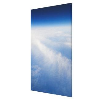 High altitude photo of Earth 5 Canvas Print
