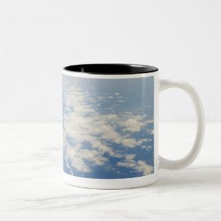 High altitude photo of Earth Mug