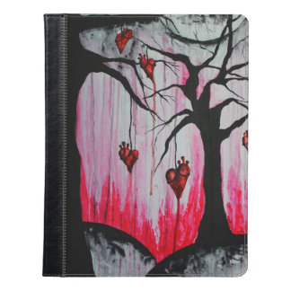 High and Dry Heart Trees Goth Art iPad Case