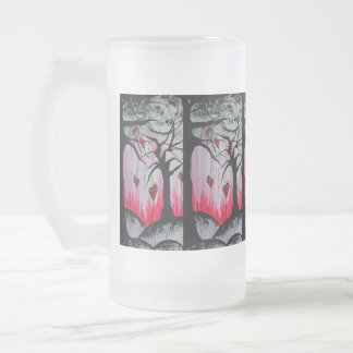 High and Dry Heart Trees Orig Art 16oz Beer Mug