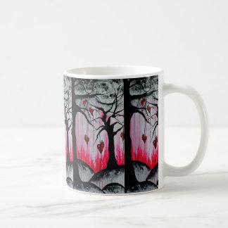High and Dry Heart Trees Original Art Coffee Mug