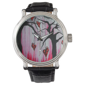 High and Dry Heart Trees Original Art Watch