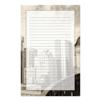 High angle view at Philadelphia downtown Stationery Paper