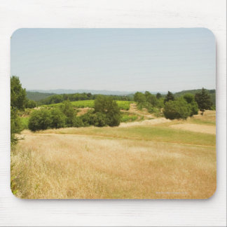 High angle view of a field, Siena Province, 2 Mouse Pad