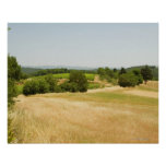 High angle view of a field, Siena Province, 2 Poster