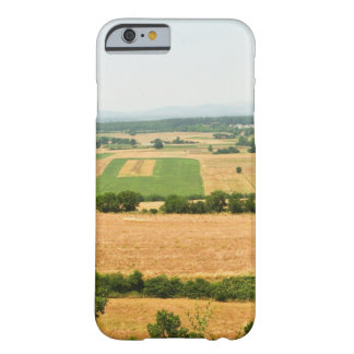 High angle view of a field, Siena Province, Barely There iPhone 6 Case