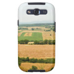 High angle view of a field, Siena Province, Samsung Galaxy S3 Case