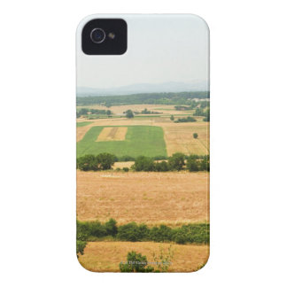 High angle view of a field, Siena Province, Case-Mate iPhone 4 Case