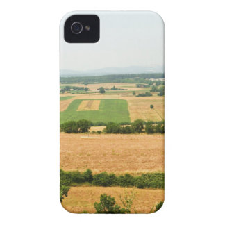 High angle view of a field, Siena Province, iPhone 4 Cover