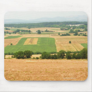 High angle view of a field, Siena Province, Mouse Pad
