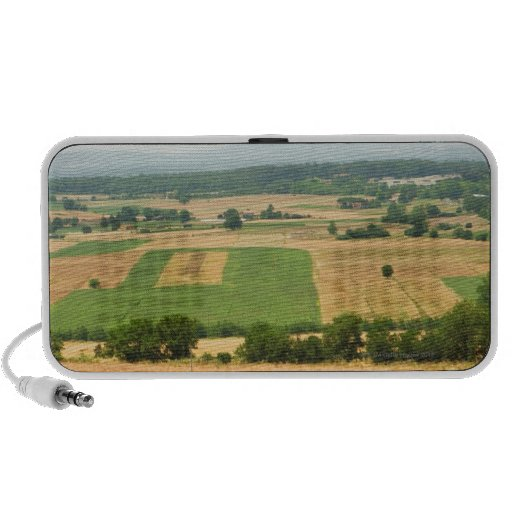 High angle view of a field, Siena Province, Mp3 Speakers