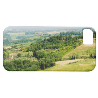 High angle view of a landscape, Siena Province, iPhone SE/5/5s Case