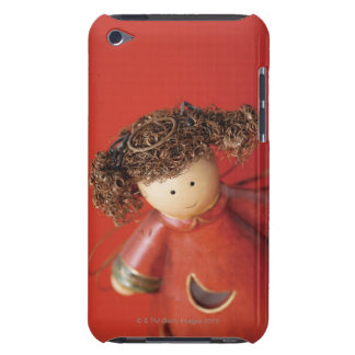 High angle view of an angel figurine iPod touch case