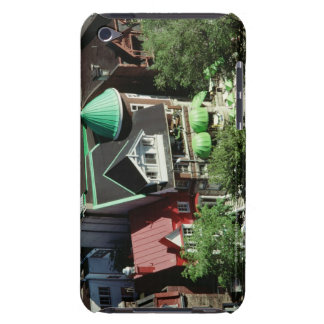 High angle view of neighborhood, Canada Barely There iPod Cover