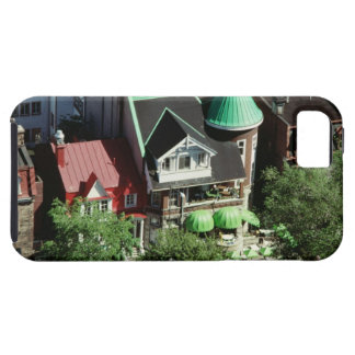 High angle view of neighborhood, Canada iPhone SE/5/5s Case