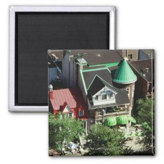 High angle view of neighborhood, Canada Magnets