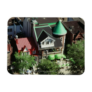 High angle view of neighborhood, Canada Rectangular Magnet