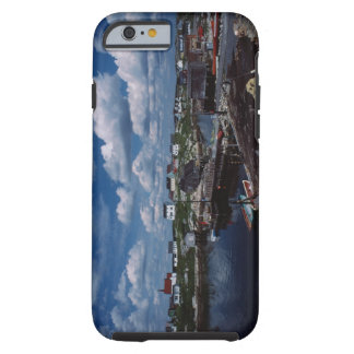 High angle view of provincial seaside town, tough iPhone 6 case