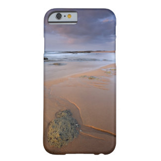 High angle view of shoreline rocks at dawn and barely there iPhone 6 case