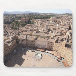 High Angle View of Townscape, Siena, Italy Mouse Pad