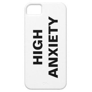 HIGH ANXIETY iPhone SE/5/5s CASE