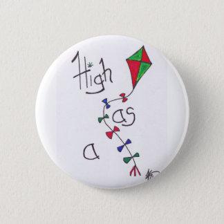 High as a kite button