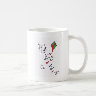 High as a kite coffee mug