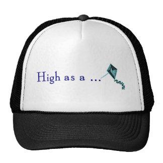 high as a kite trucker hat