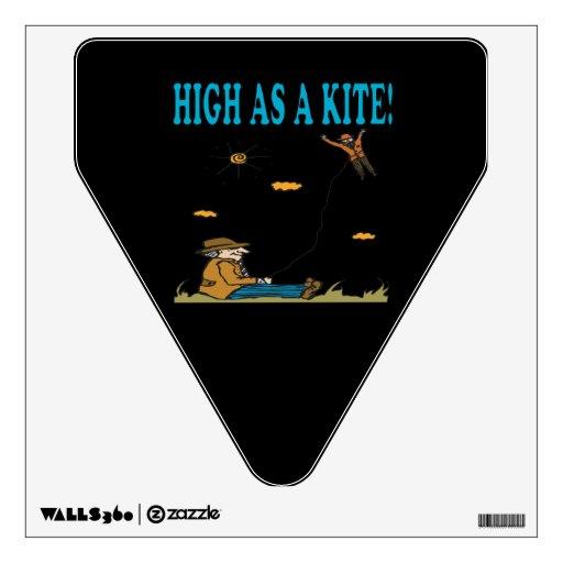 High As A Kite Wall Graphic