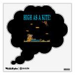High As A Kite Wall Skin