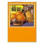 High Ball California Oranges Card