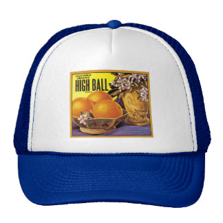 High Ball California Oranges Trucker Hat