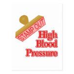High Blood Pressure Postcard